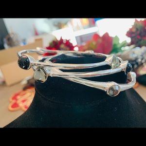 Chicos 3 dangle bracelets